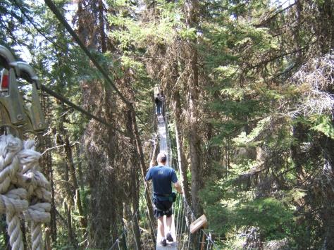 Tree Top Walking, Big MountainWhitefish, MT USA Aug 2009